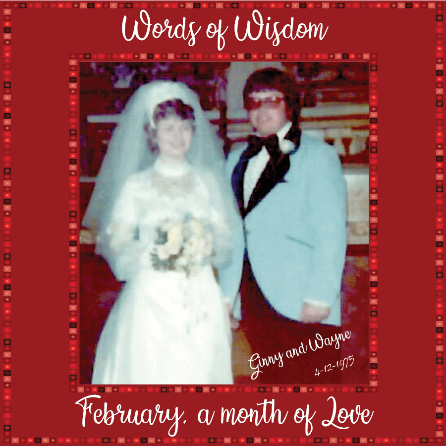 Ginny and Wayne Clement Wedding Photo