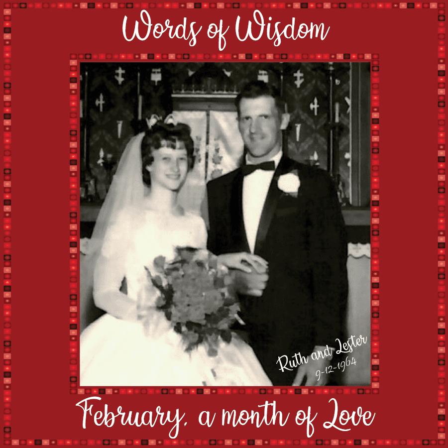 Ruth and Lester Praska Wedding Photo