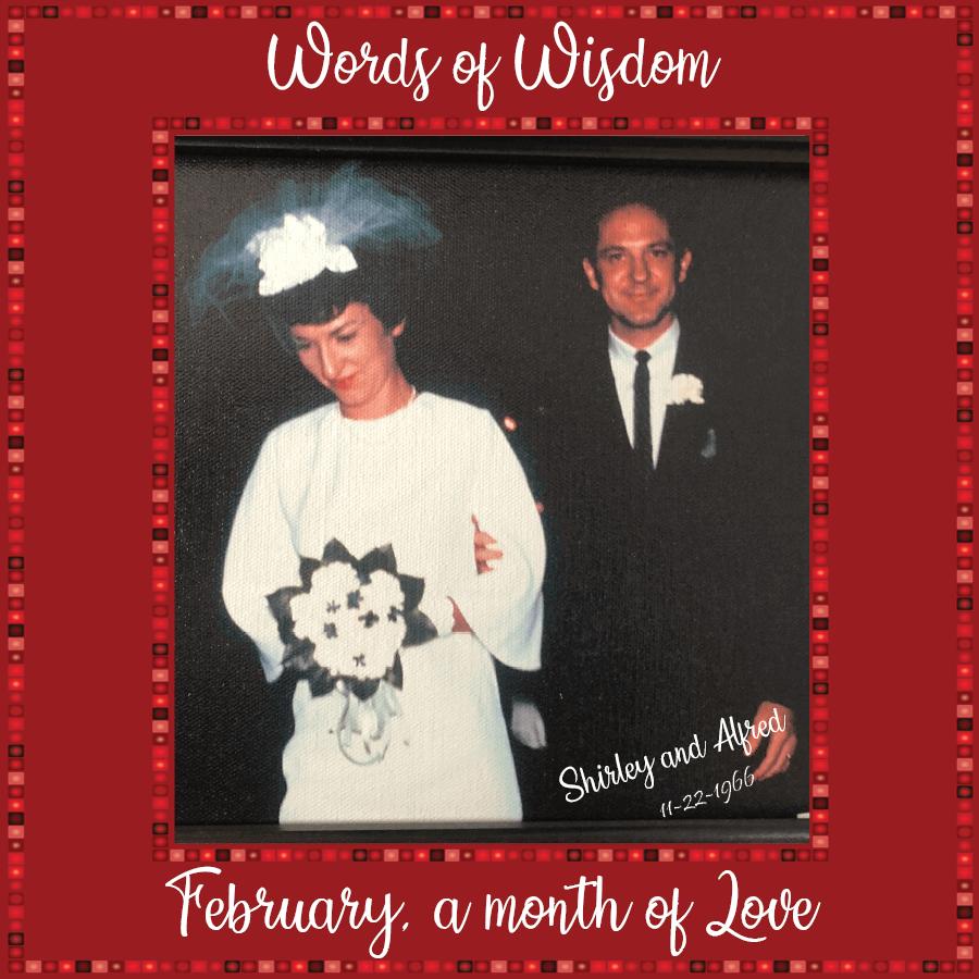 Shirley and Alfred Ludeking Wedding Photo